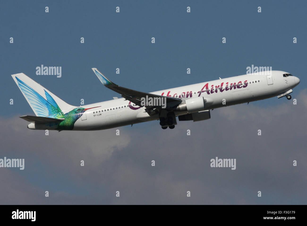 CARIBBEAN 767 9Y-LGW - Stock Image