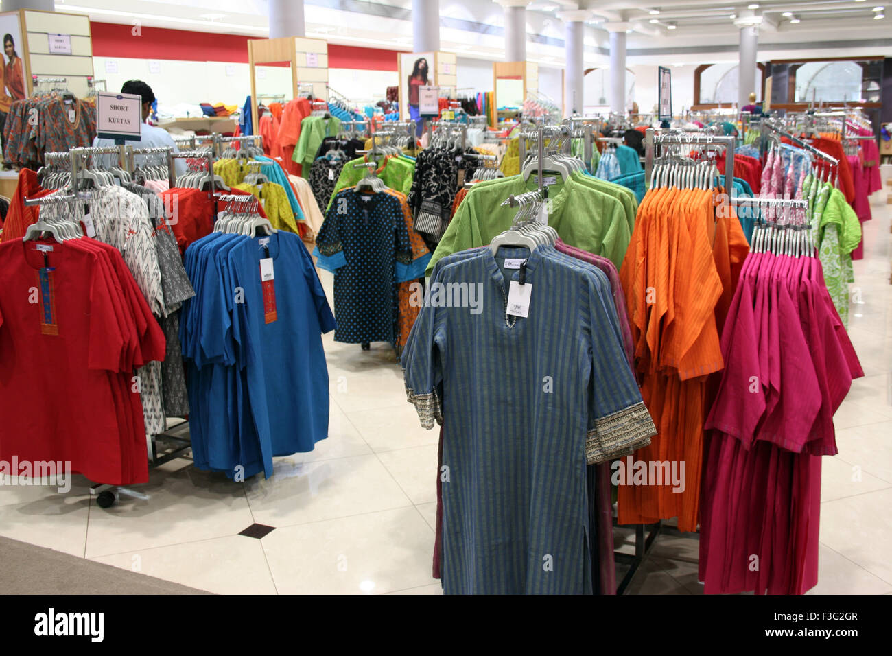 Westside readymade garments showroom ; Fort ; Bombay Mumbai ; Maharashtra ; India - Stock Image