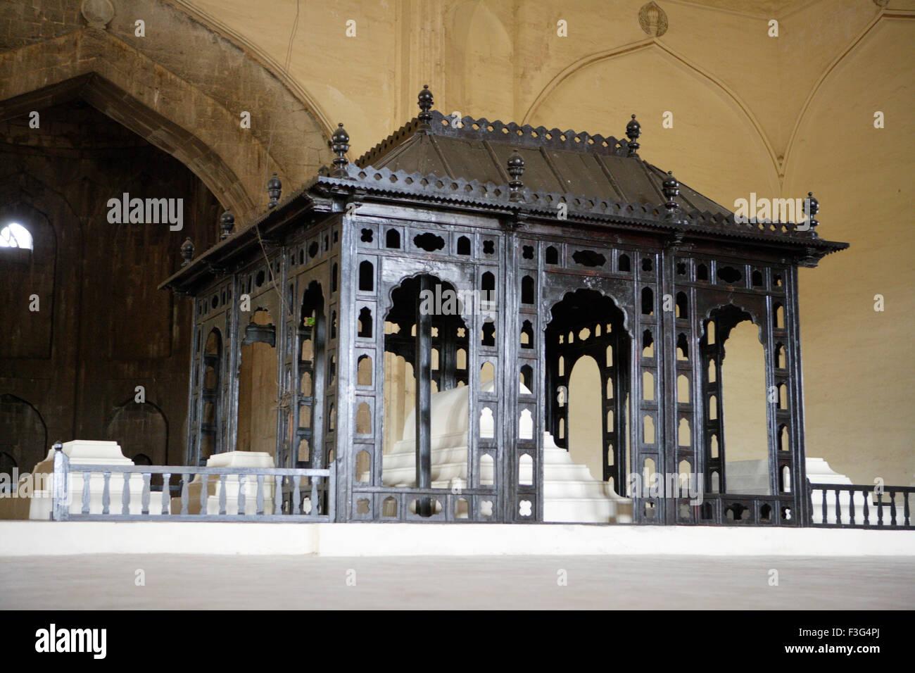 Gol Gumbaz ; built in 1659 ; Mausoleum of Muhammad Adil Shah II (1627 57) Bijapur ; Karnataka - Stock Image