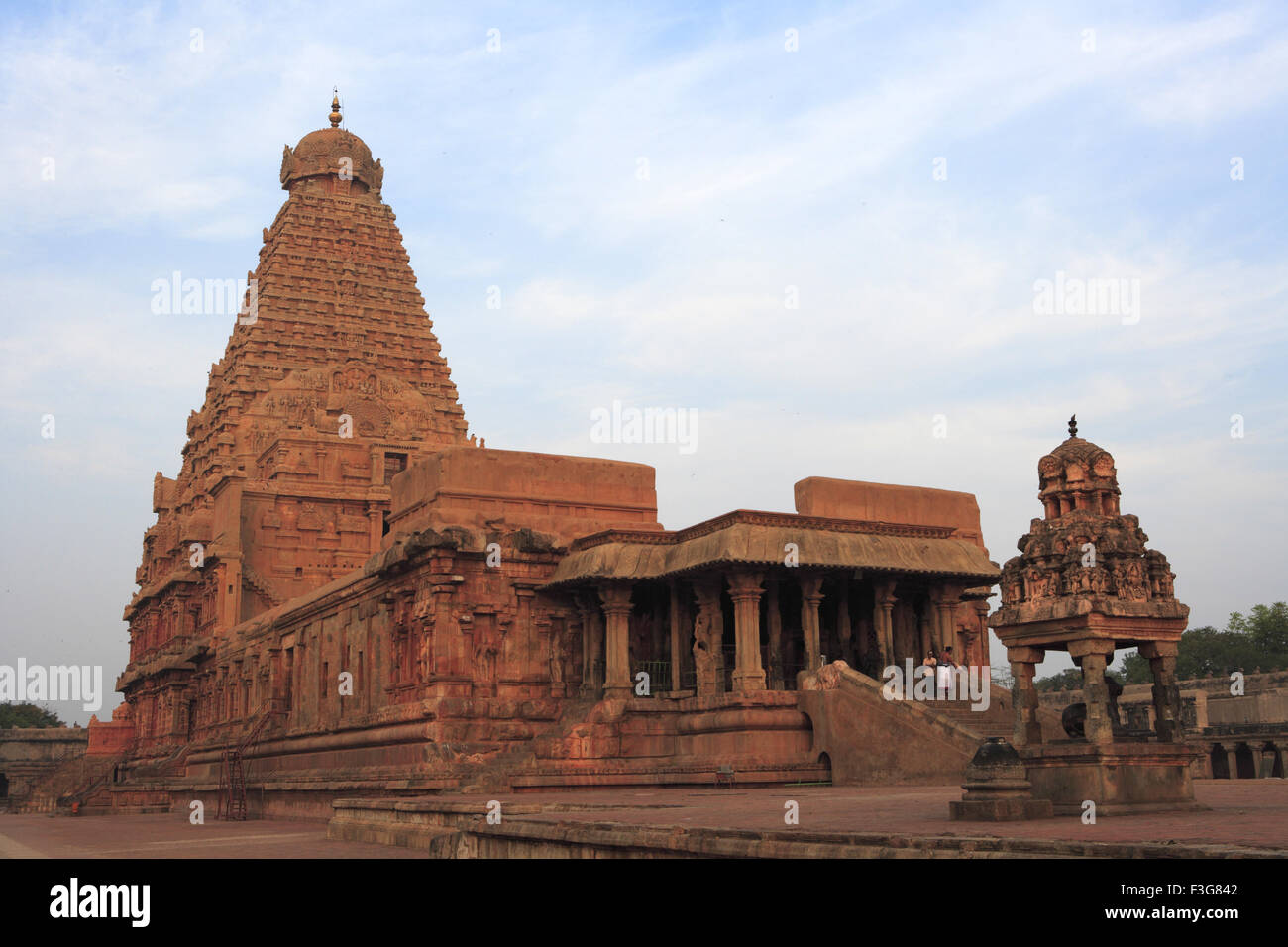 Brihadeshwara Temple Dedicated Lord Shiva Stock Photos