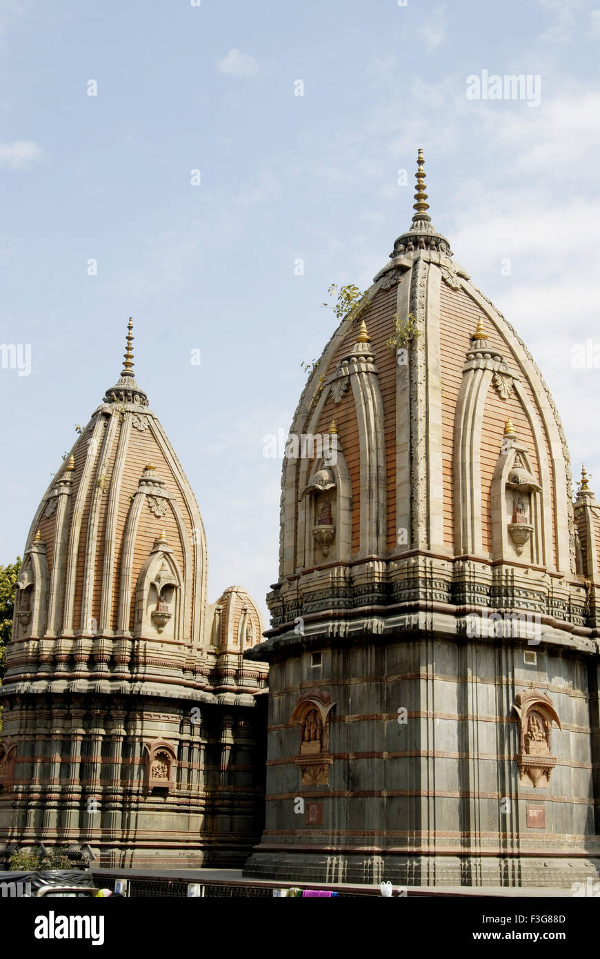 Chattries are the tombs made in memory of dead Holkar rulers near Rajwada at Indore ; Madhya Pradesh ; India - Stock Image