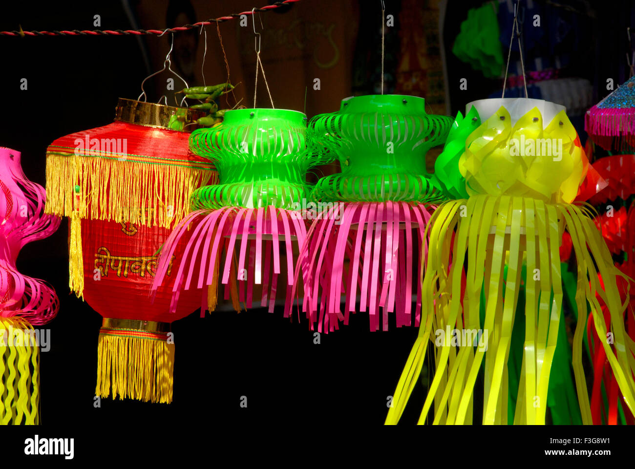 Plastic Lanterns High Resolution Stock Photography And Images Alamy