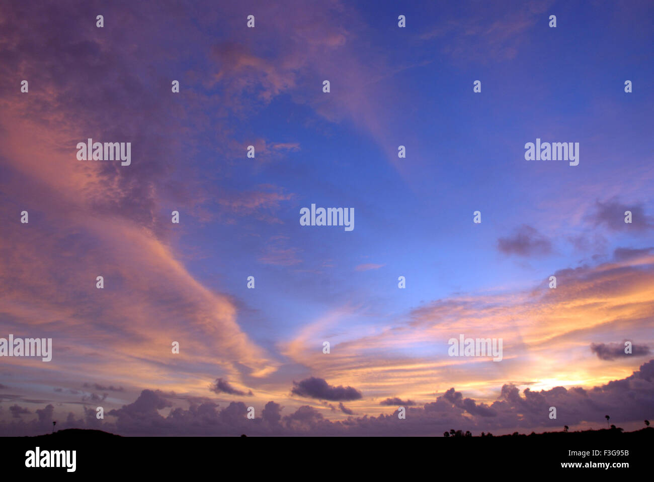 Sky scape ; India - Stock Image