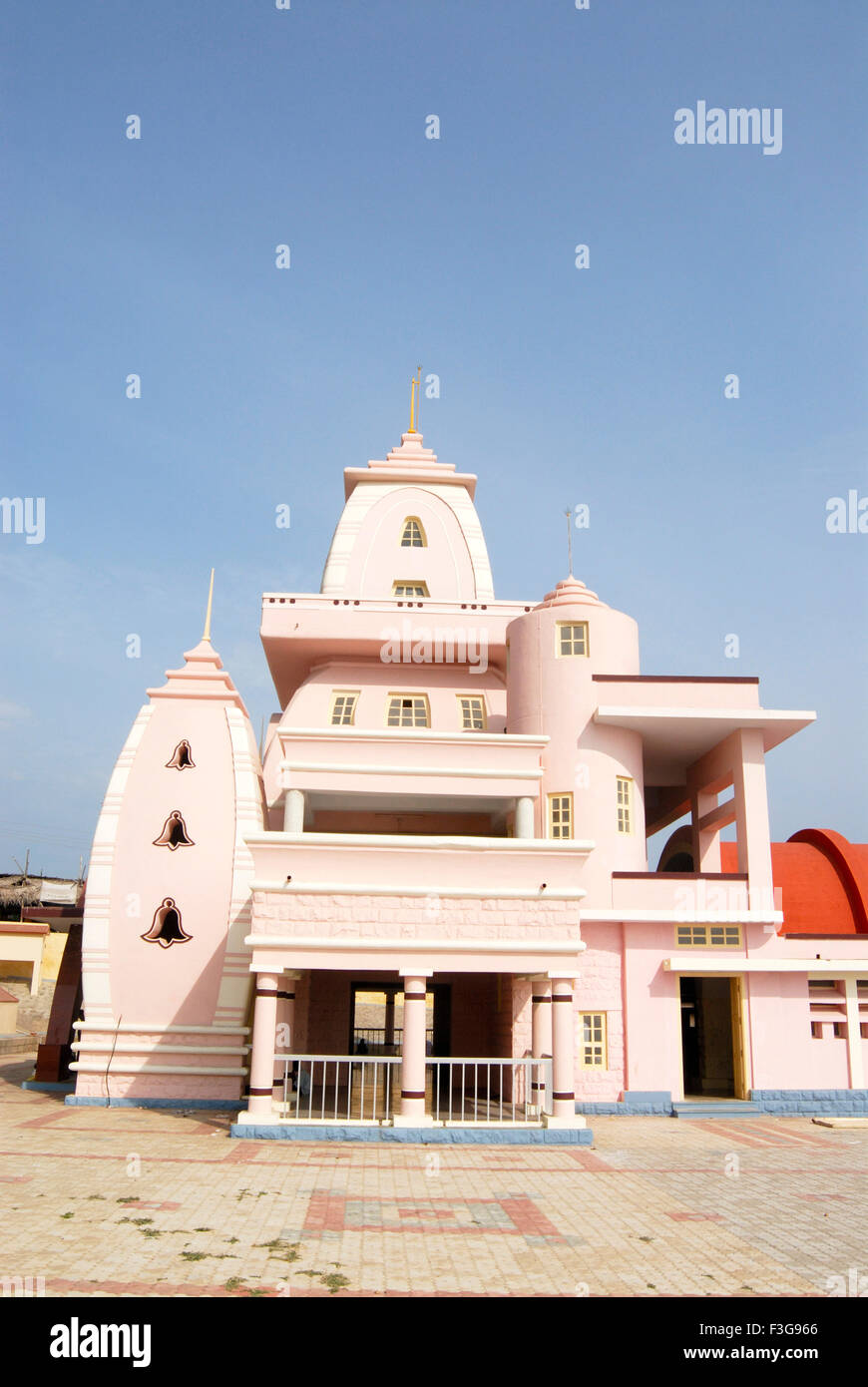 Gandhi Memorial established in 1956 (height 79 feet); Kanyakumari ; Tamil Nadu ; India - Stock Image