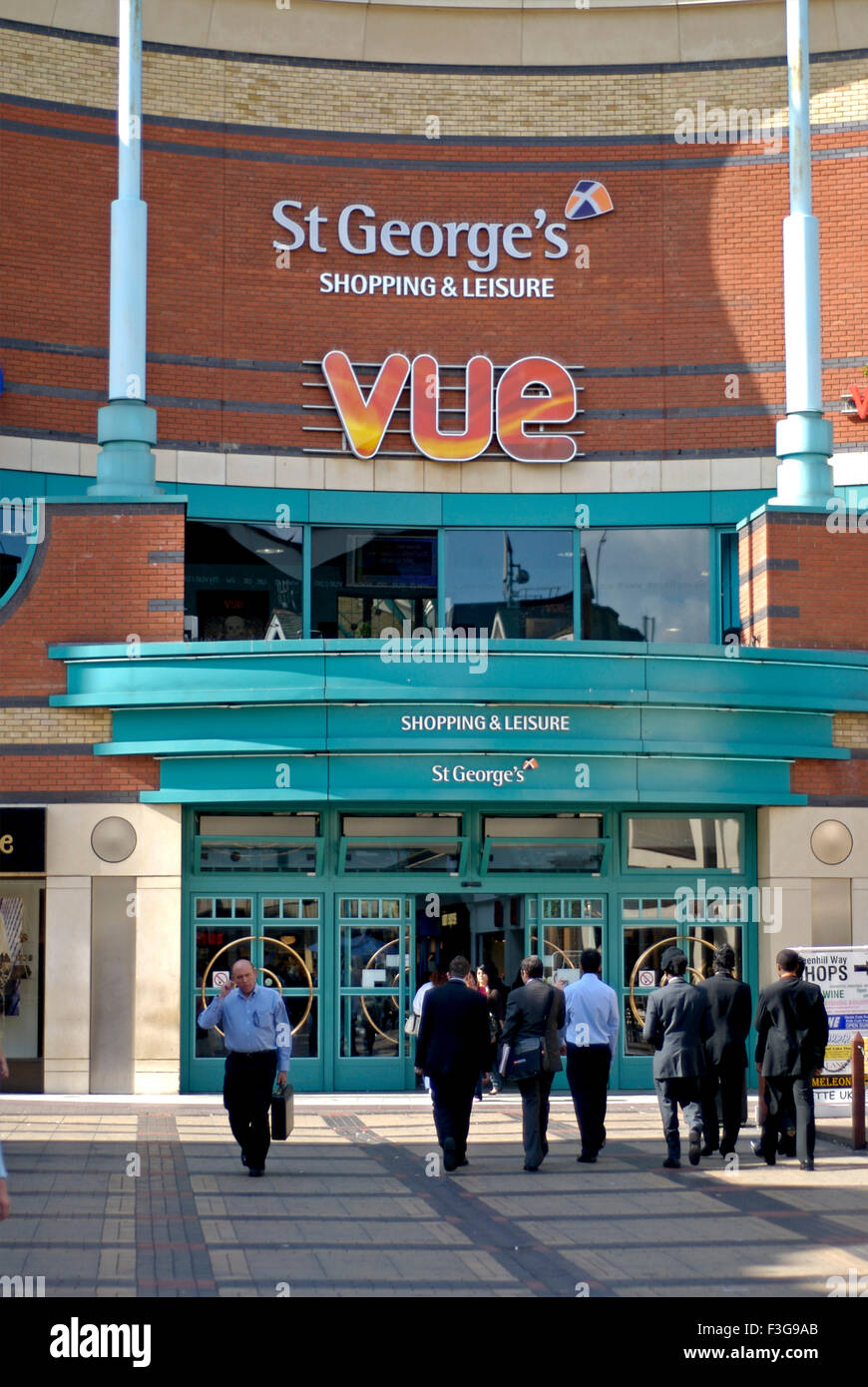 Vue St George's shopping and leisure store ; Harrow ; London ; U.K. United Kingdom England - Stock Image