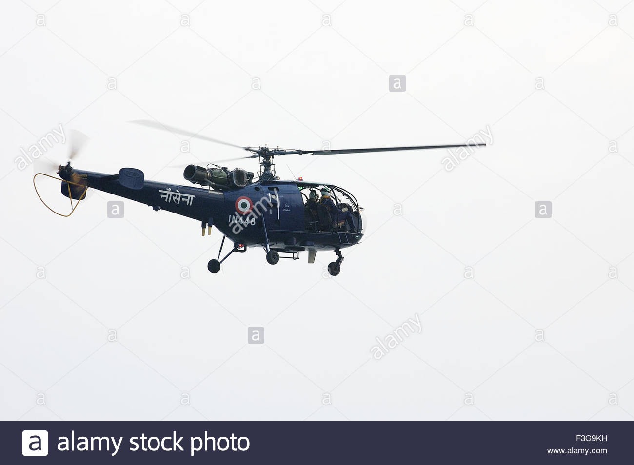 Navy show at gate way of India ; rescue team ; Mumbai Bombay ; Maharashtra ; India - Stock Image