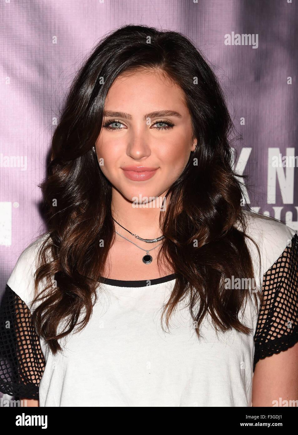 RYAN NEWMAN US film actress in October 2015. Photo Jeffrey Mayer - Stock Image