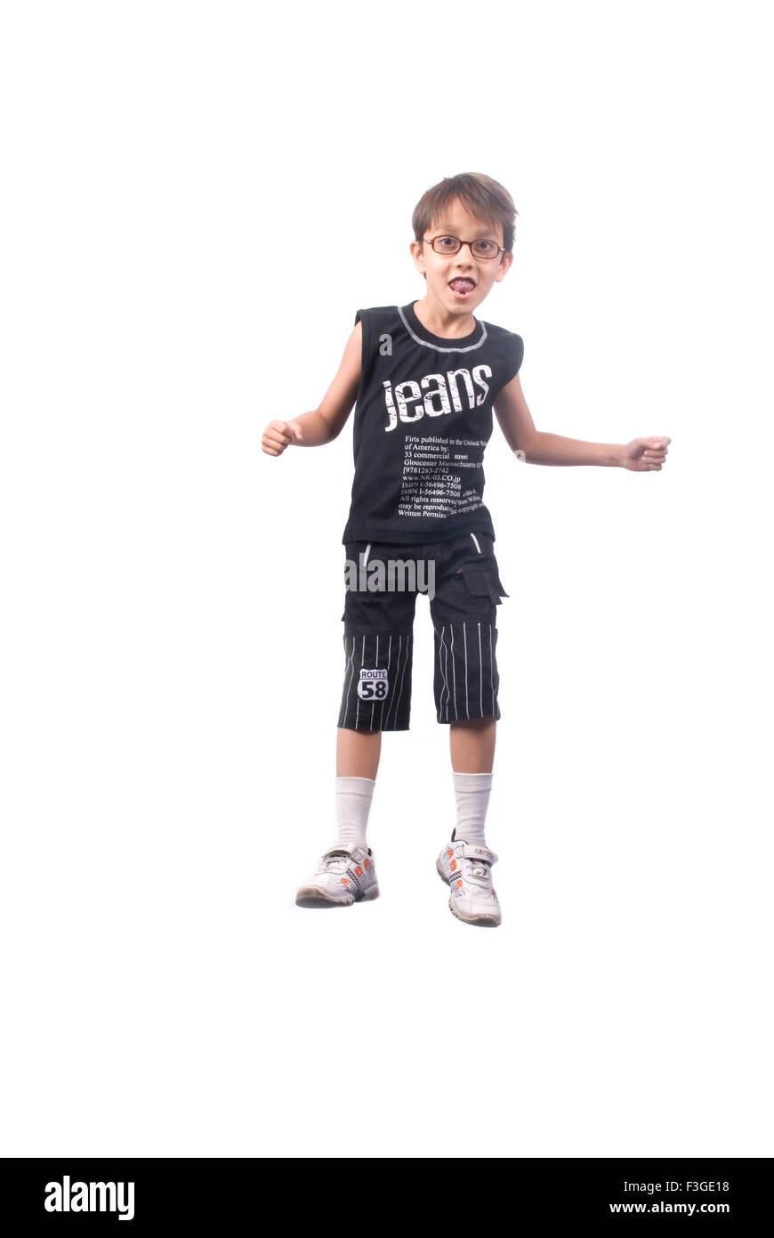 Teenager boy look alike Harry Potter MR#733 - Stock Image