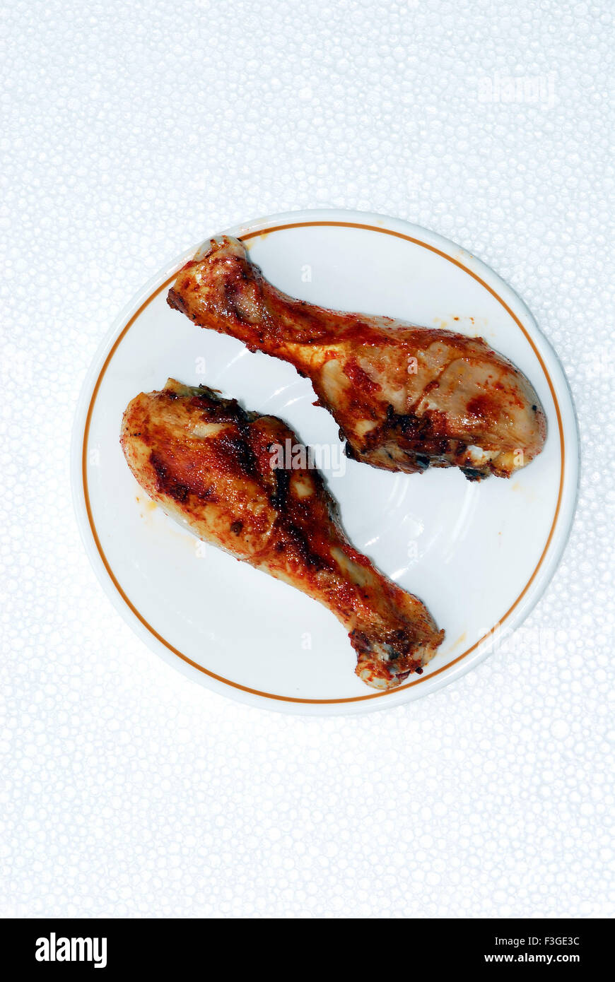 Indian Non Vegetarian Food Grilled Chicken Legs Or Drumstick