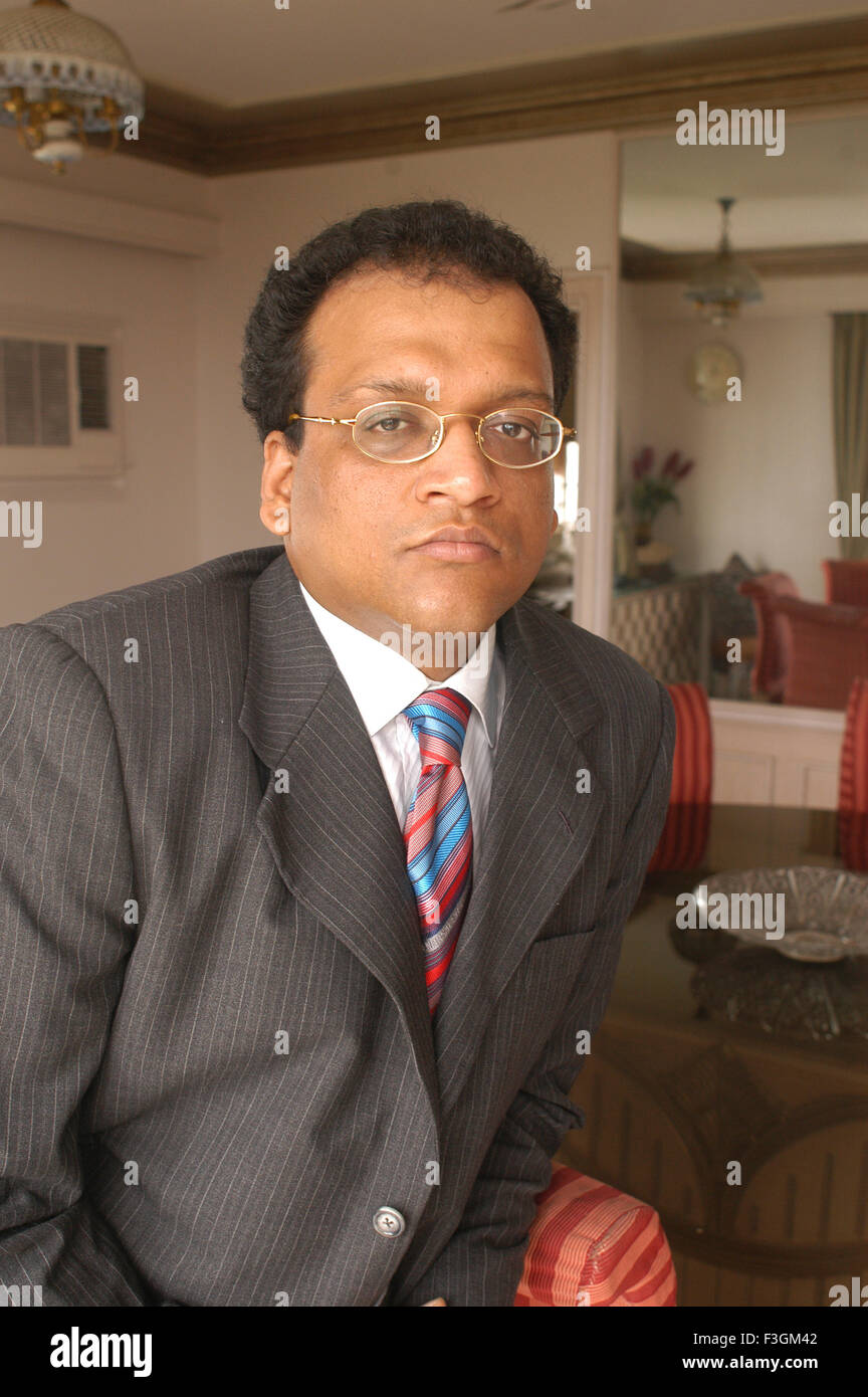 Aditya Agarwal Director of Emami Ltd NO MR - Stock Image