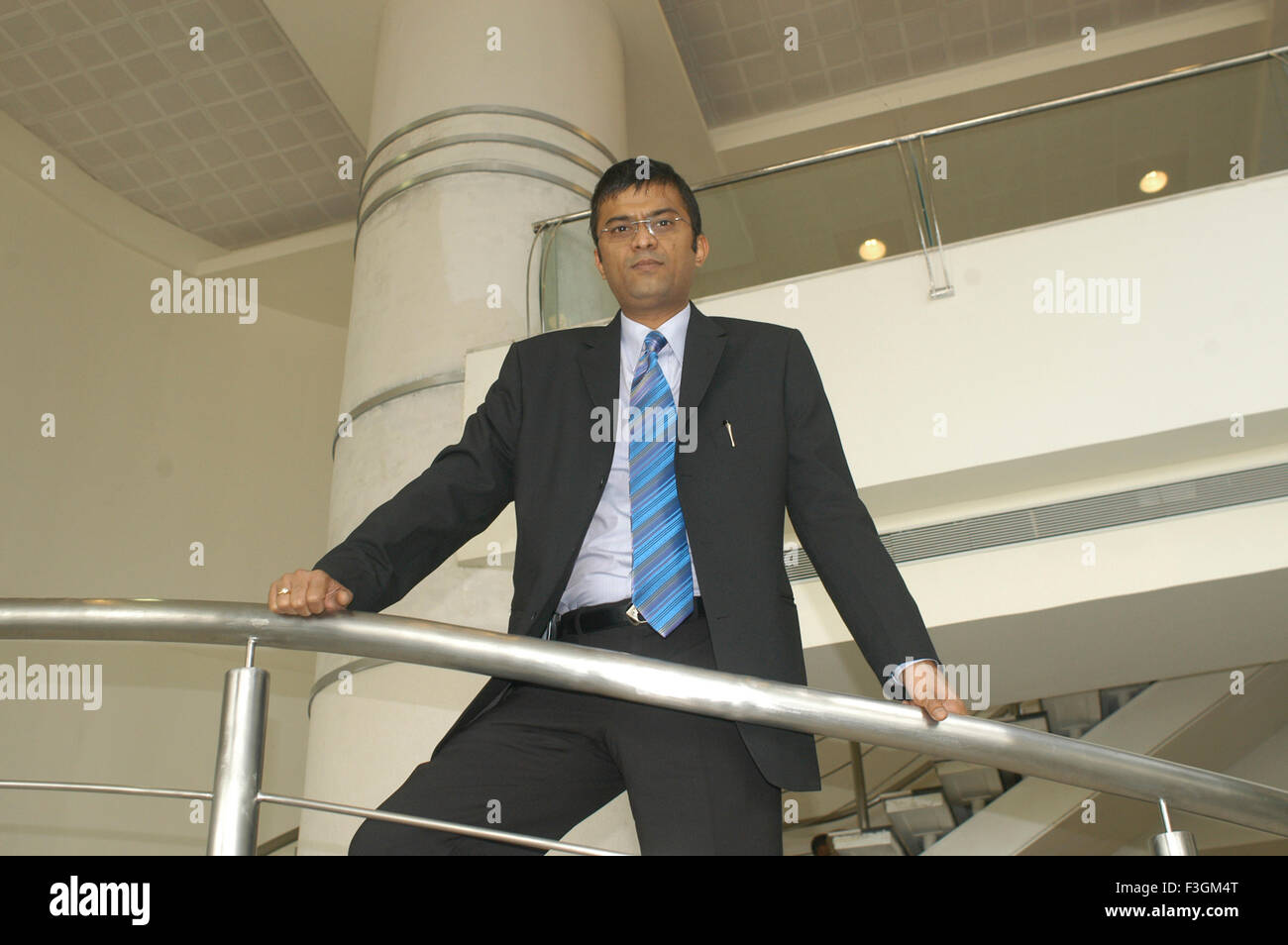 Rahul Saraf prominent real estate developer in Kolkata NO MR - Stock Image