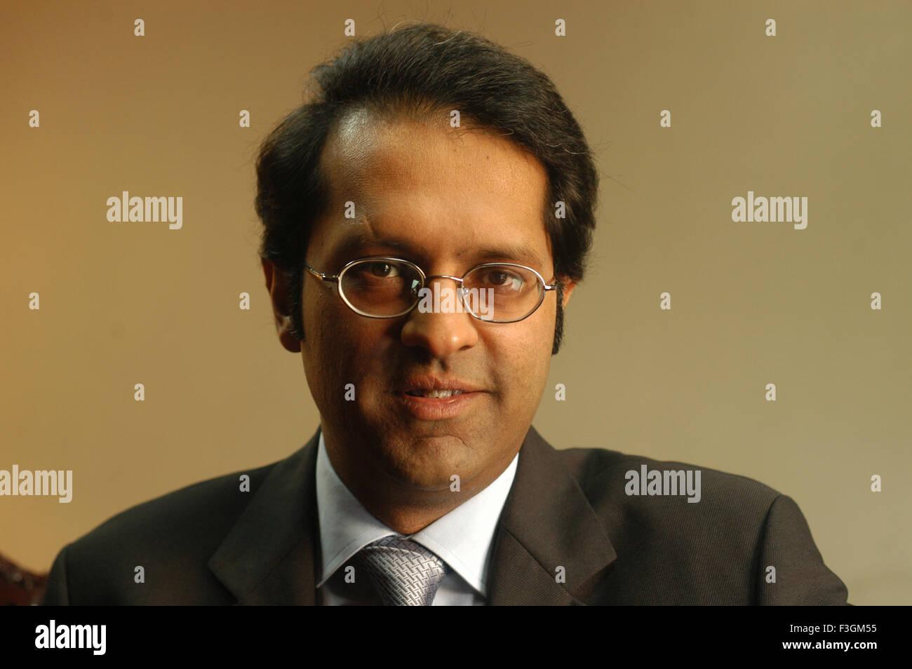 Vivek Saraogi Managing Director Balrampur Chini mills NO MR - Stock Image