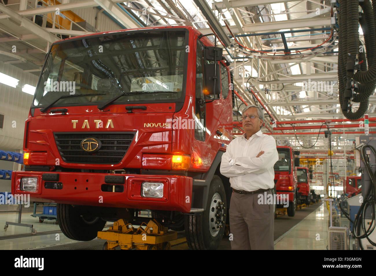 Ravi Kunt Managing Director of Tata Motors NO MR - Stock Image