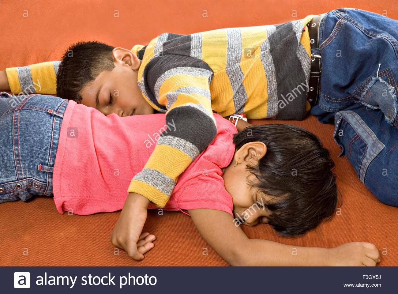 Asian Sister Sleeping