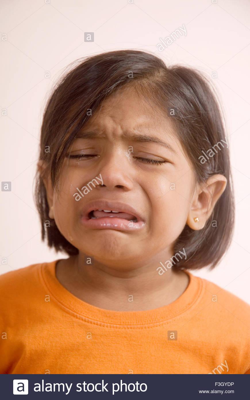 Crying Girl Indian Stock Photos & Crying Girl Indian Stock ...