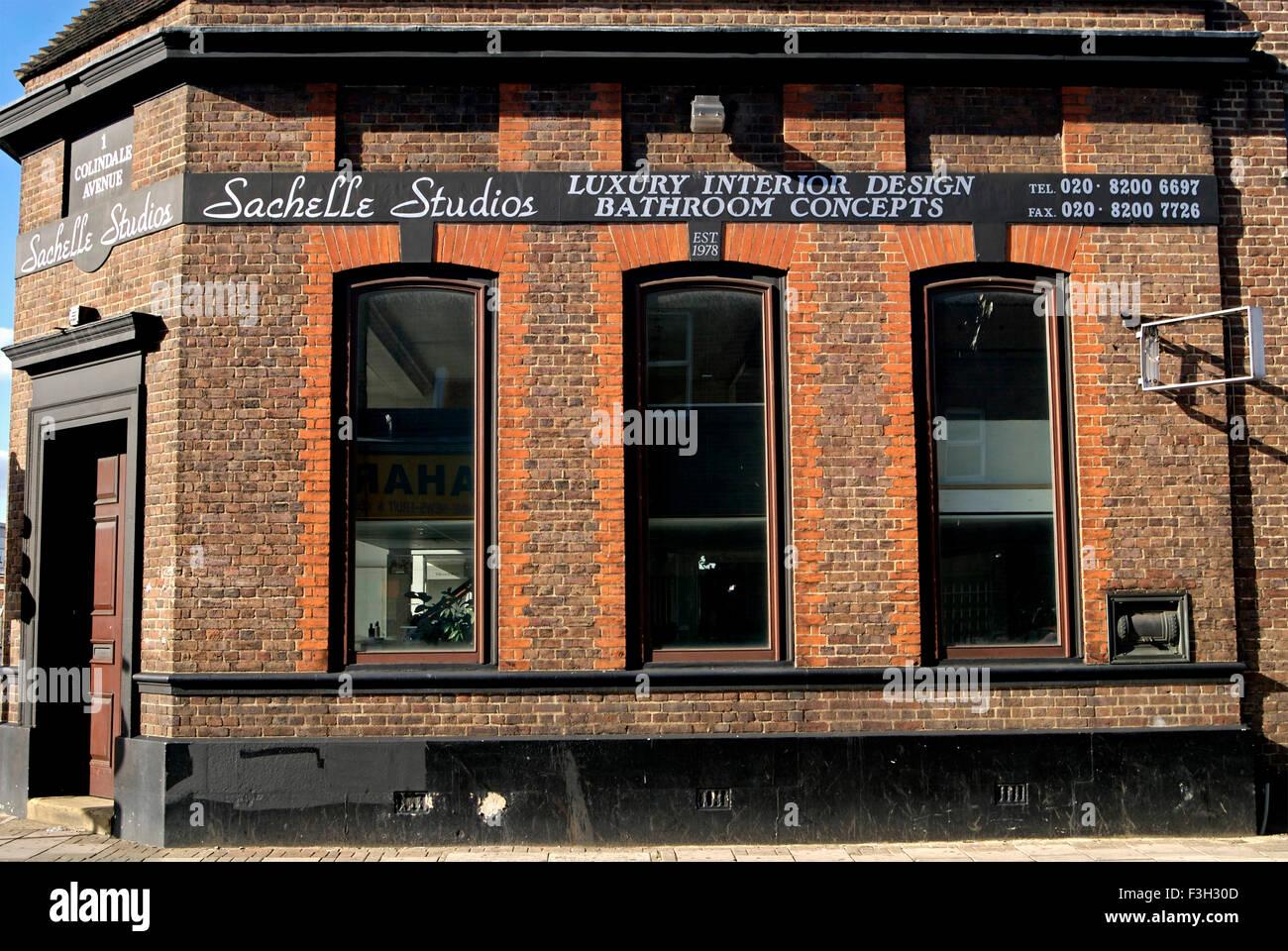 Sachelle Studios ; London ; U.K. United Kingdom England - Stock Image
