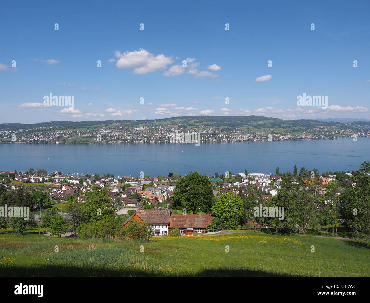 Lake of Zurich - Stock Image