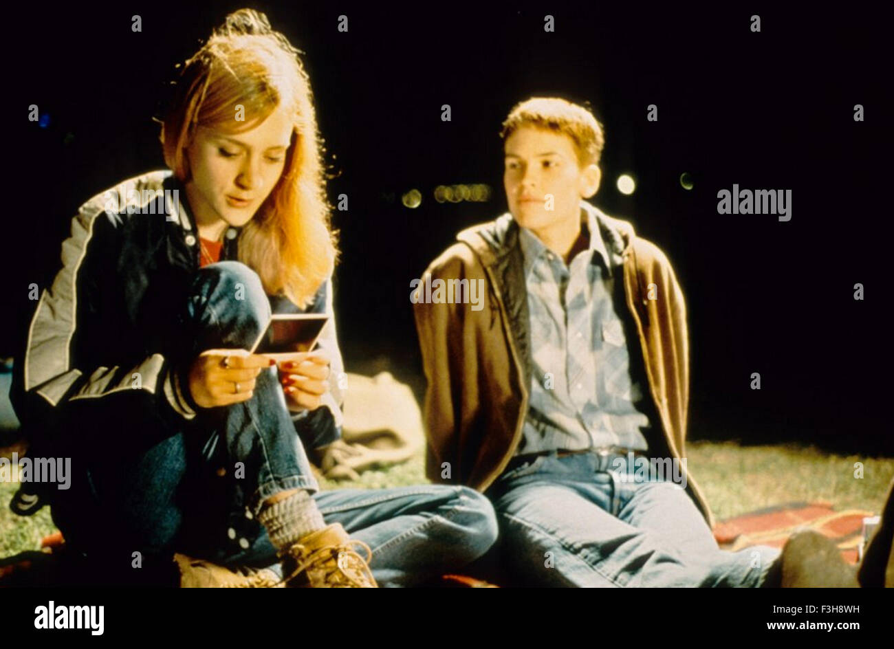 BOYS DON'T CRY 1999 Fox Searchlight Pictures film with Chloe Sevigny at left and Hilary Swank - Stock Image