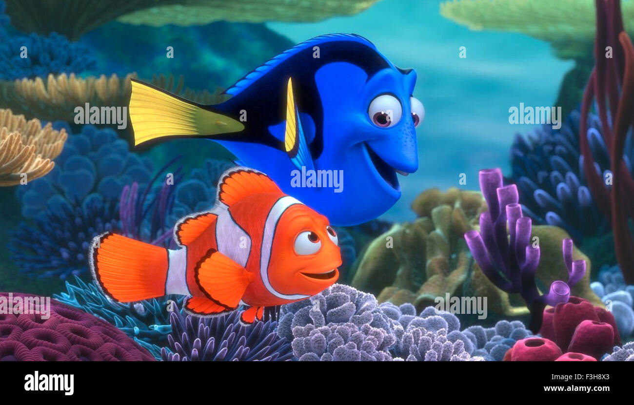 FINDING NEMO 2003 Buena Vista animation - Stock Image