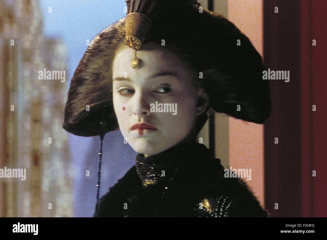STAR WARS: EPISODE 1 - THE PHANTOM MENACE  1999 Lucasfilm production with Natalie Portman - Stock Image