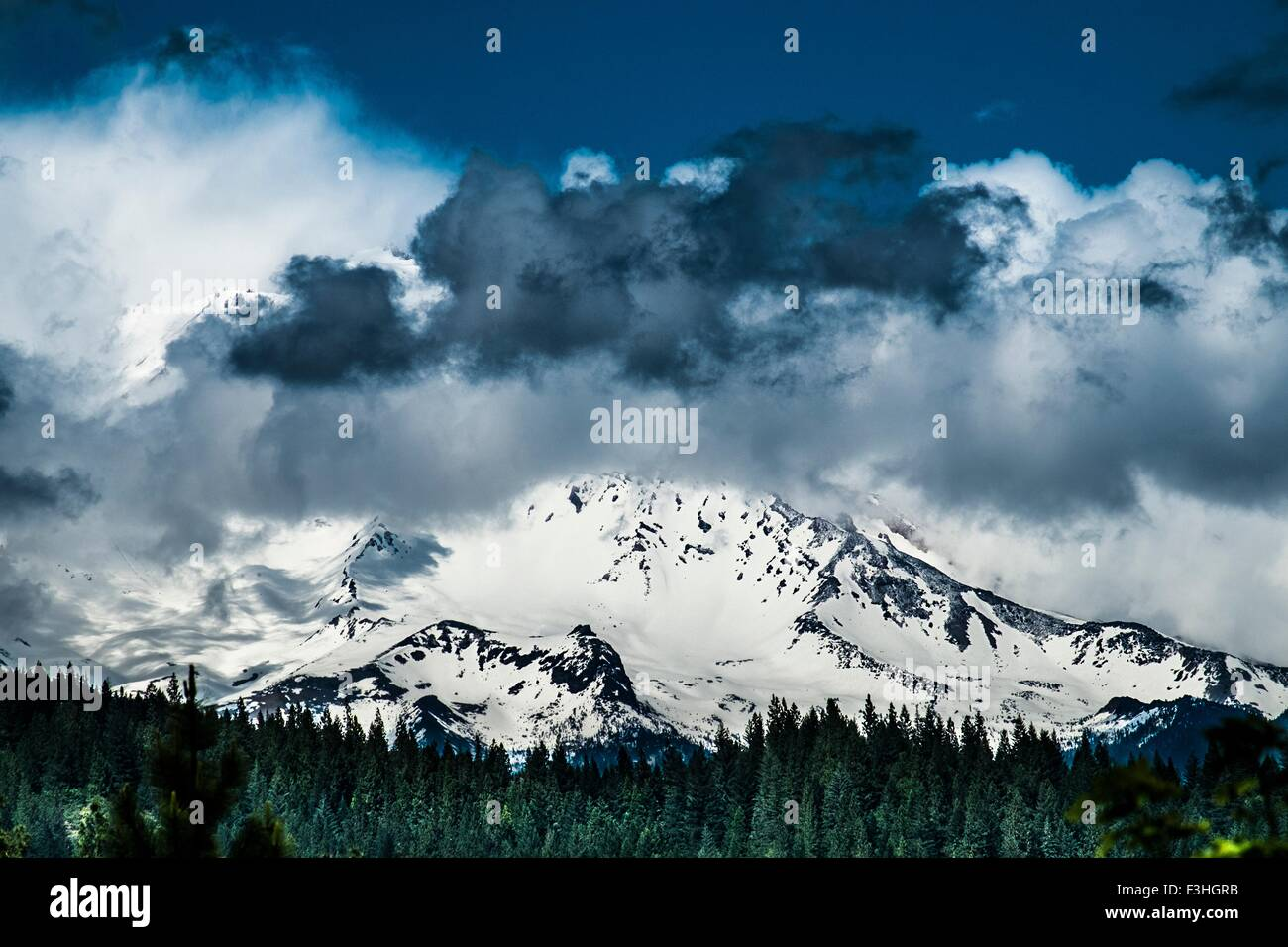 Mount Shasta, California, USA - Stock Image