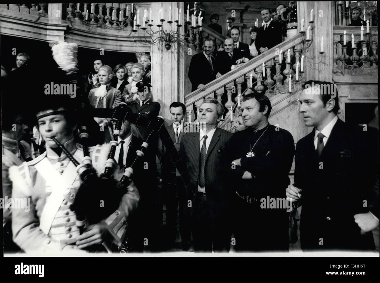 Feb. 24, 1978 - At the occasion of the beginning of the film ''Waterloo'' a great reception was held at the De Laurentiis Stock Photo