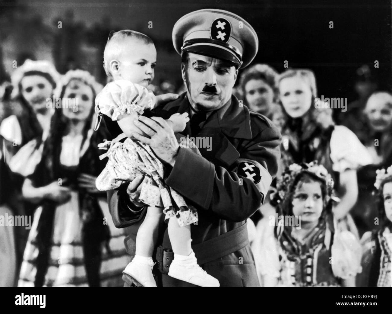 the great dictator satire