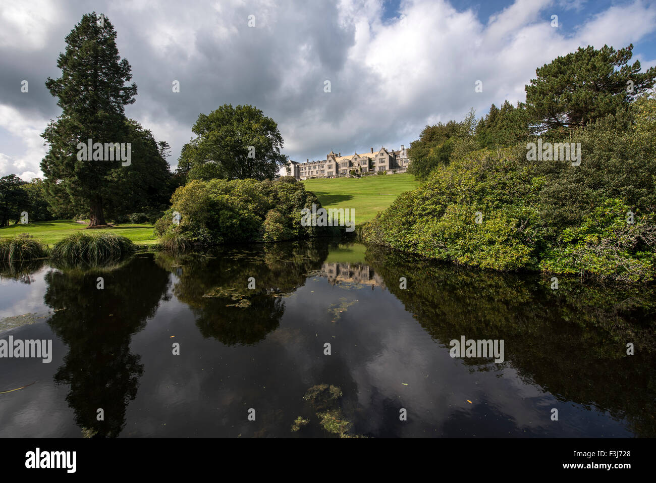 Bovey Castle Hotel Dartmoor, England, Great Britain, United Kingdom, Europe - Stock Image
