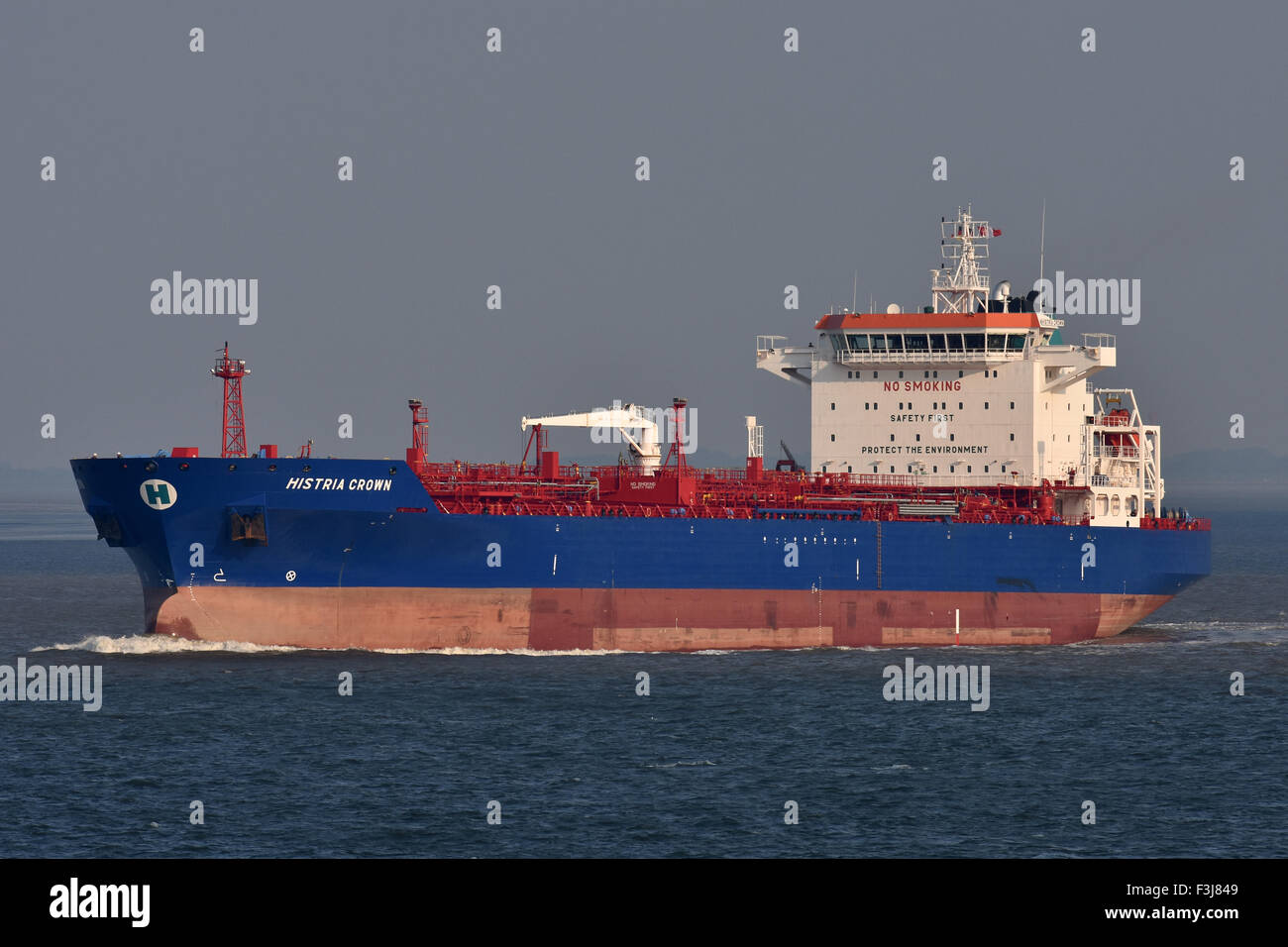 Chemical/Oil Products Tanker Histria Crown Stock Photo