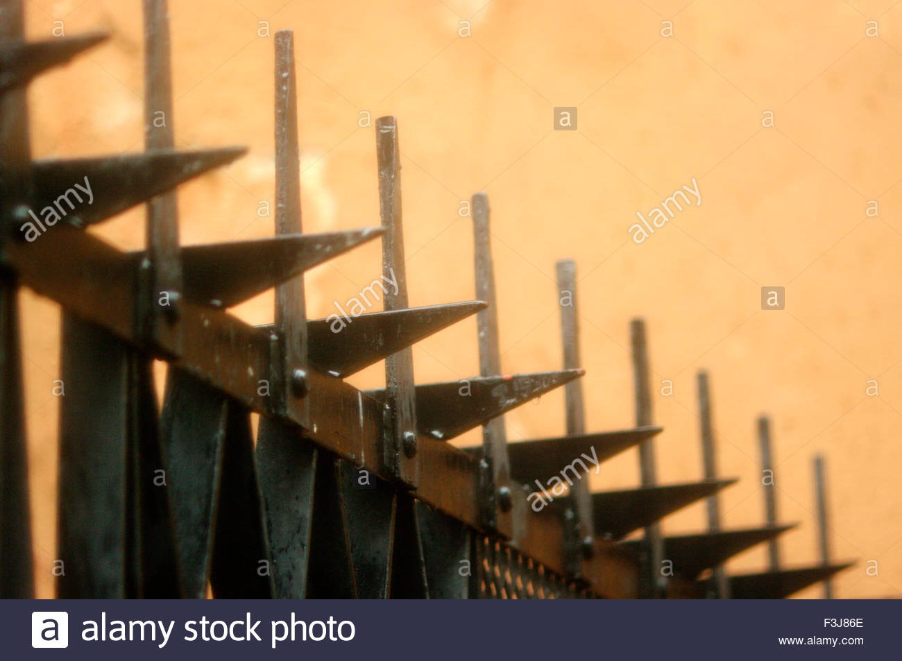 Railing Spikes Stock Photos & Railing Spikes Stock Images - Alamy