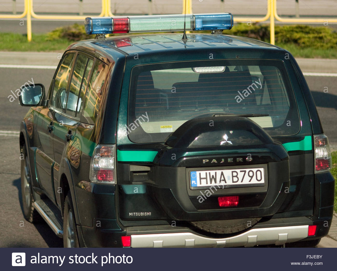 Customs And Immigration At Country Border - Poland Europe - Stock Image
