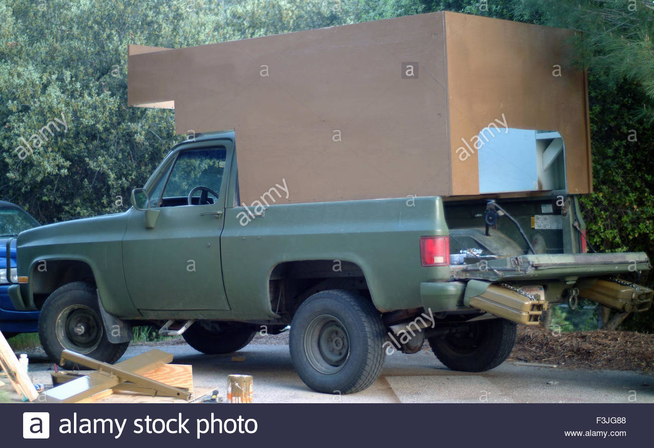 Military Chevy CUCV Utility Vehicle Stock Photo: 88303720