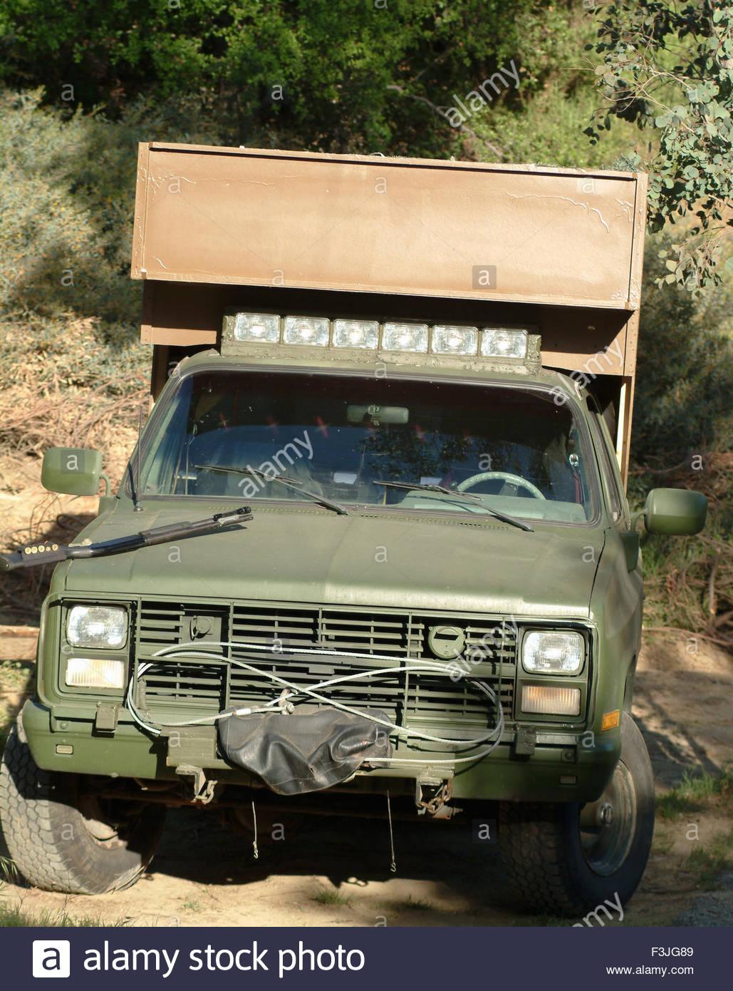Military Chevy CUCV Utility Vehicle Stock Photo: 88303721 - Alamy