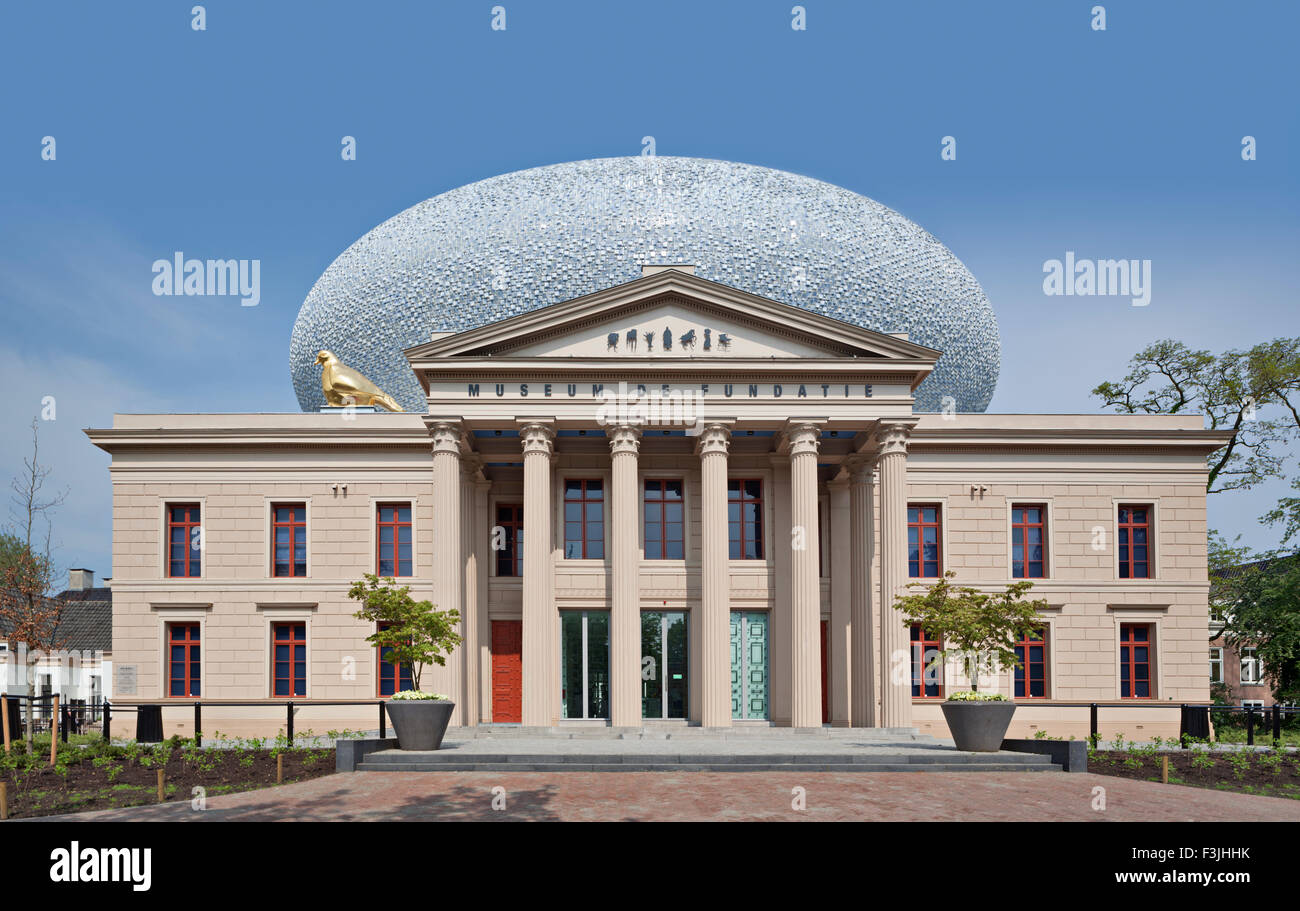 Museum de fundatie (the foundation) in Zwolle, the Netherlands - Stock Image