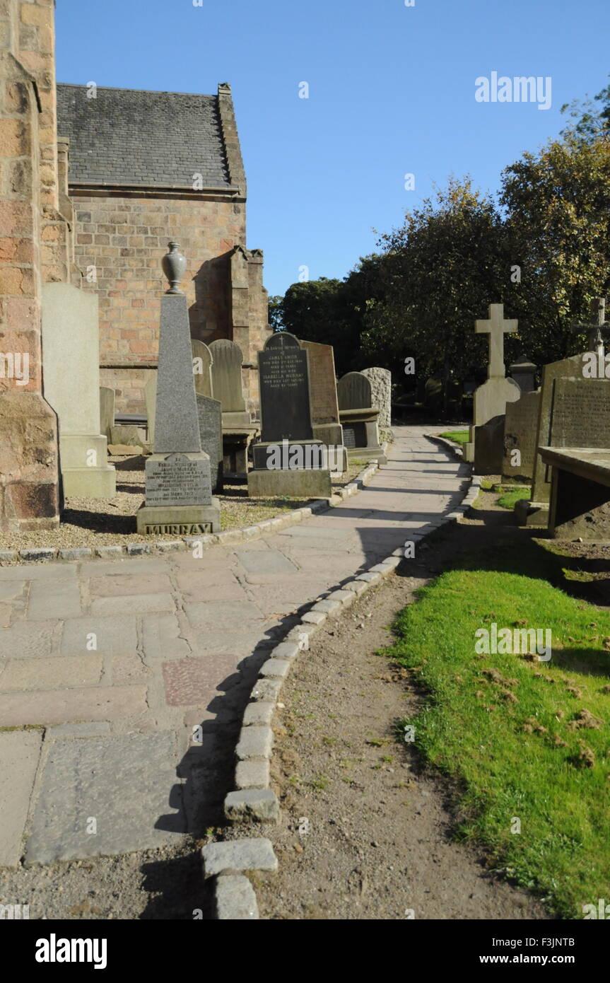 Old Graveyard - Stock Image