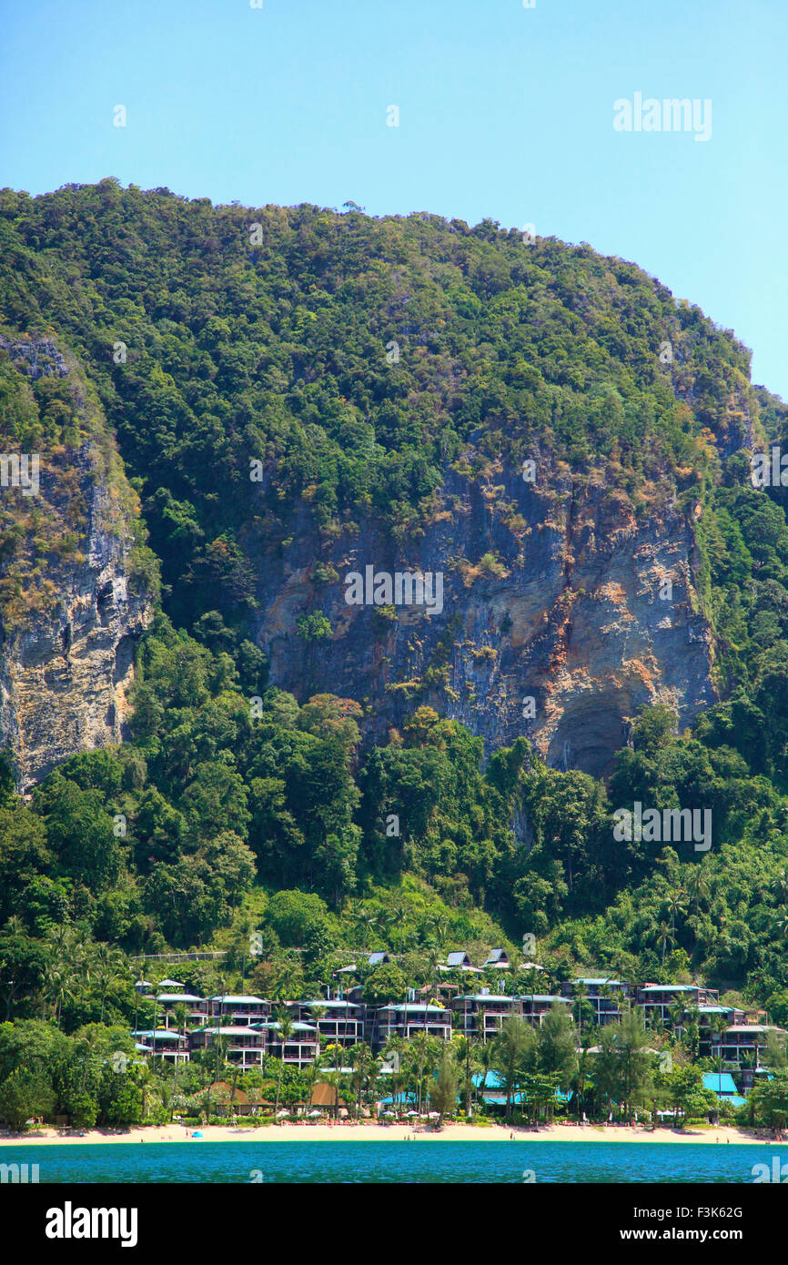 Thailand, Krabi, Ao Nang, Phai Plong Beach, Centara Resort, - Stock Image