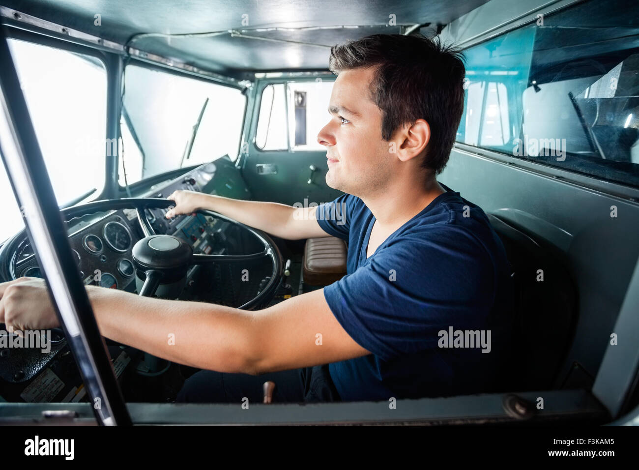Security Van Driver Stock Photos & Security Van Driver Stock