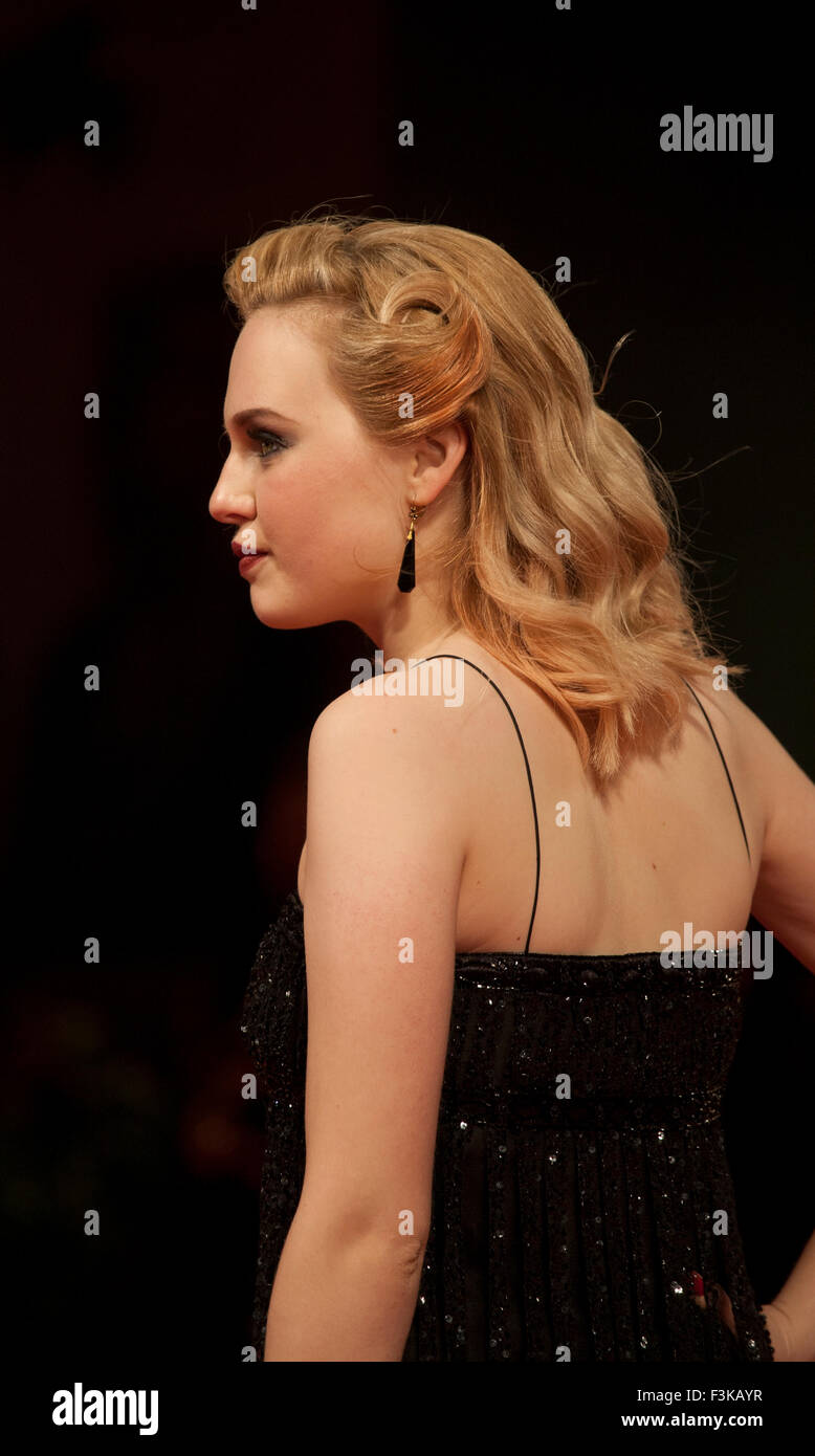 Odessa Young at the gala screening for the film Equals at the 72nd Venice Film Festival, Saturday September 5th Stock Photo