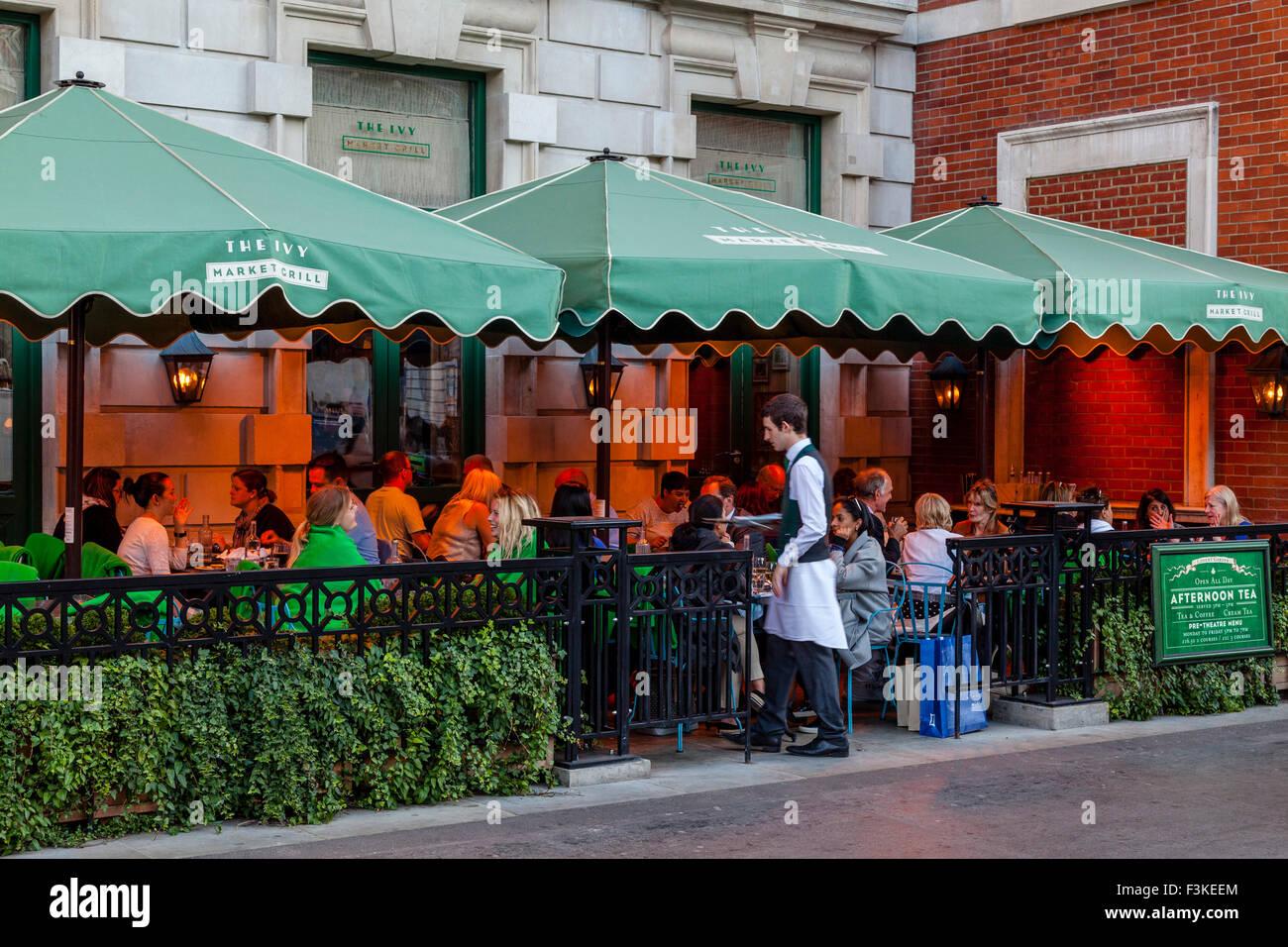 The Ivy Market Grill Restaurant Covent Garden London Uk Stock Photo Alamy