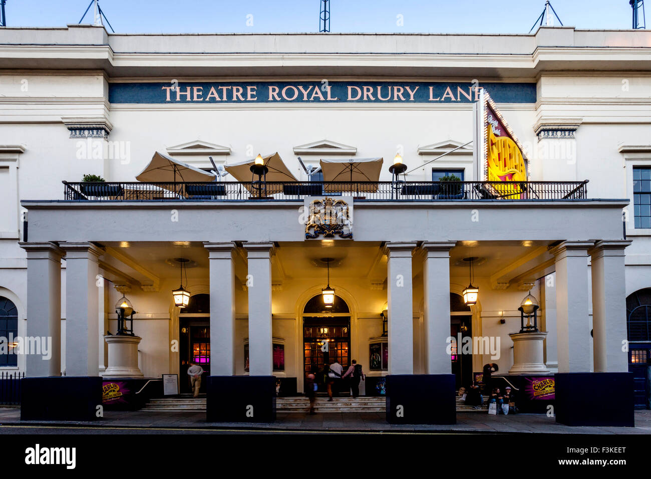 The Theatre Royal Drury Lane, Covent Garden, London, UK Stock Photo