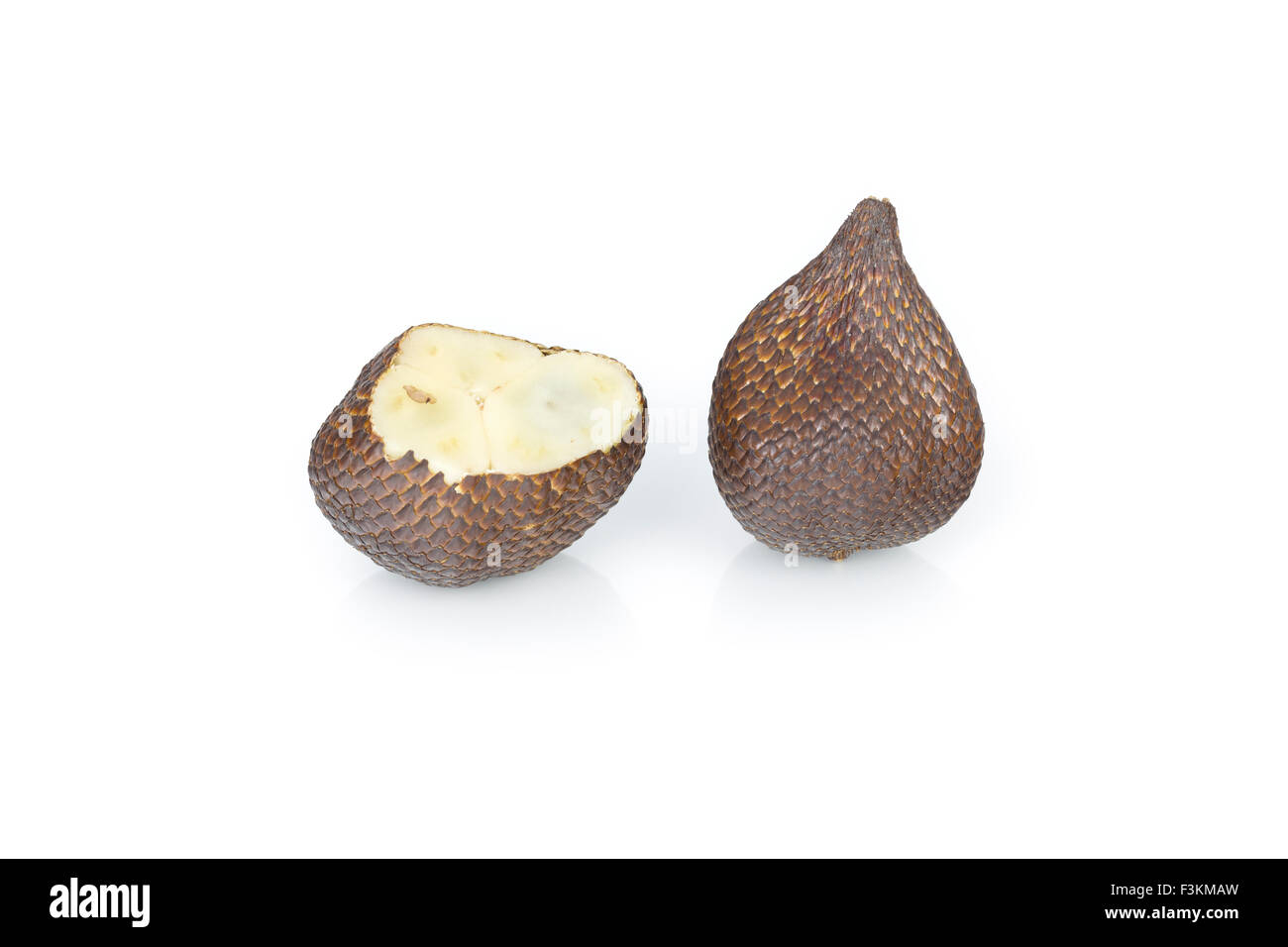 Salak or snake skin fruit, fruit of the Salak palm, Bali, Indonesia - Stock Image