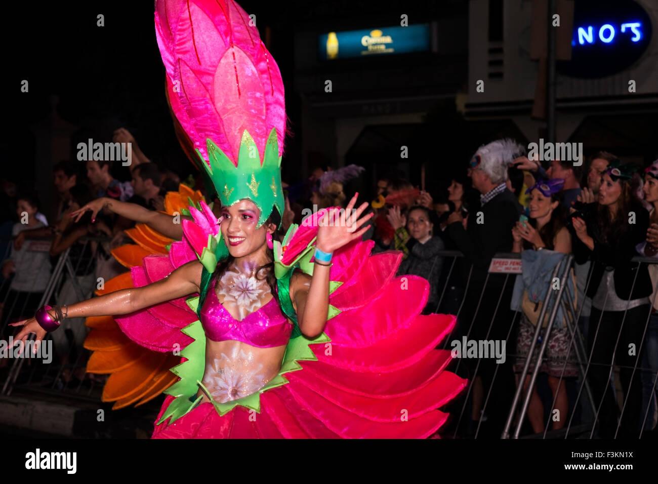 Pink Flower Costume Cape Carnival 2013 Fanfare Street In Stock