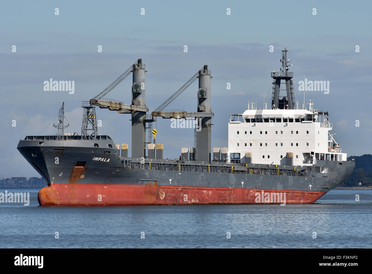 General Cargo Vessel Impala - Stock Image
