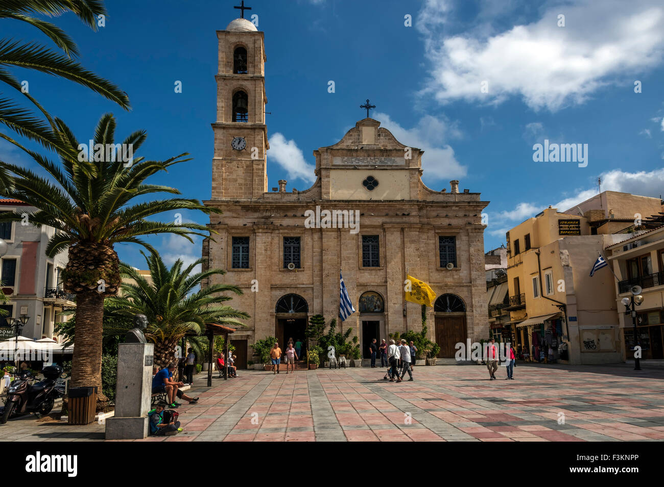 Church of Triartyri, Chania Crete. Stock Photo