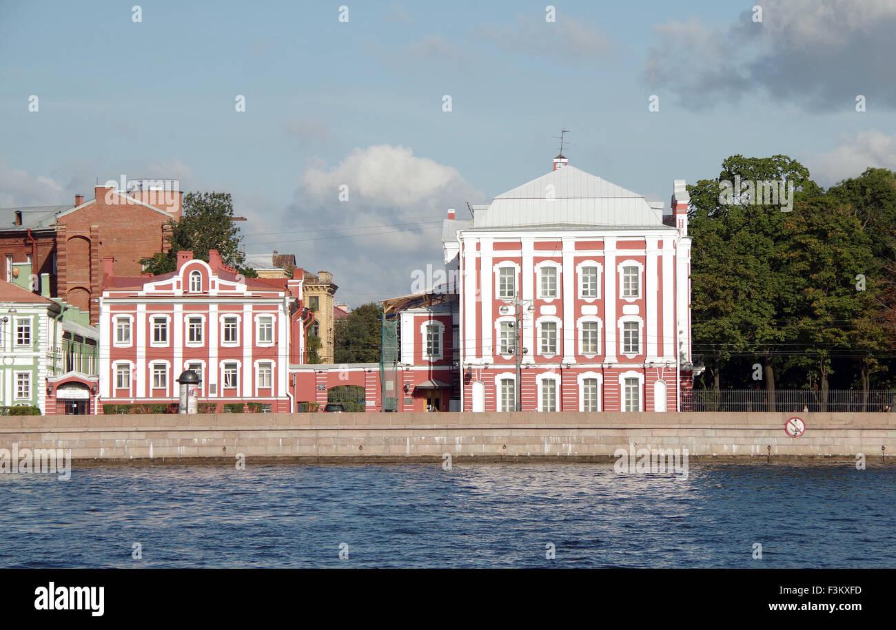 St Petersburg, Twelve Colleges - Stock Image