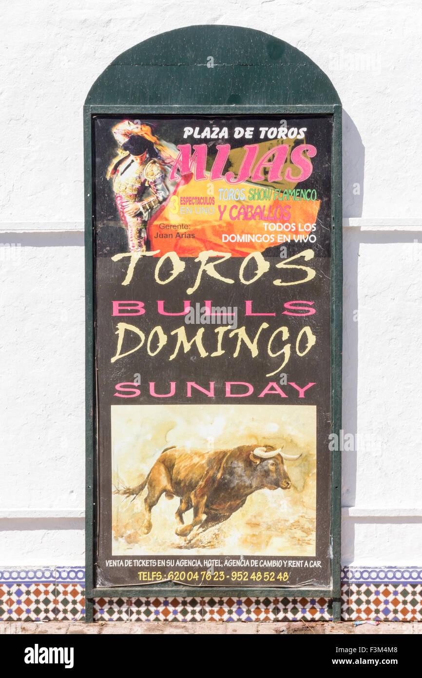Bullring Of Mijas Stock Photos & Bullring Of Mijas Stock
