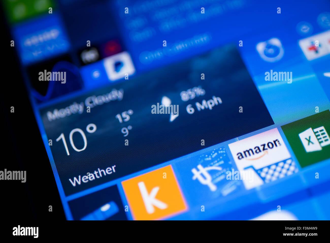 Windows 10 Phone Stock Photos & Windows 10 Phone Stock