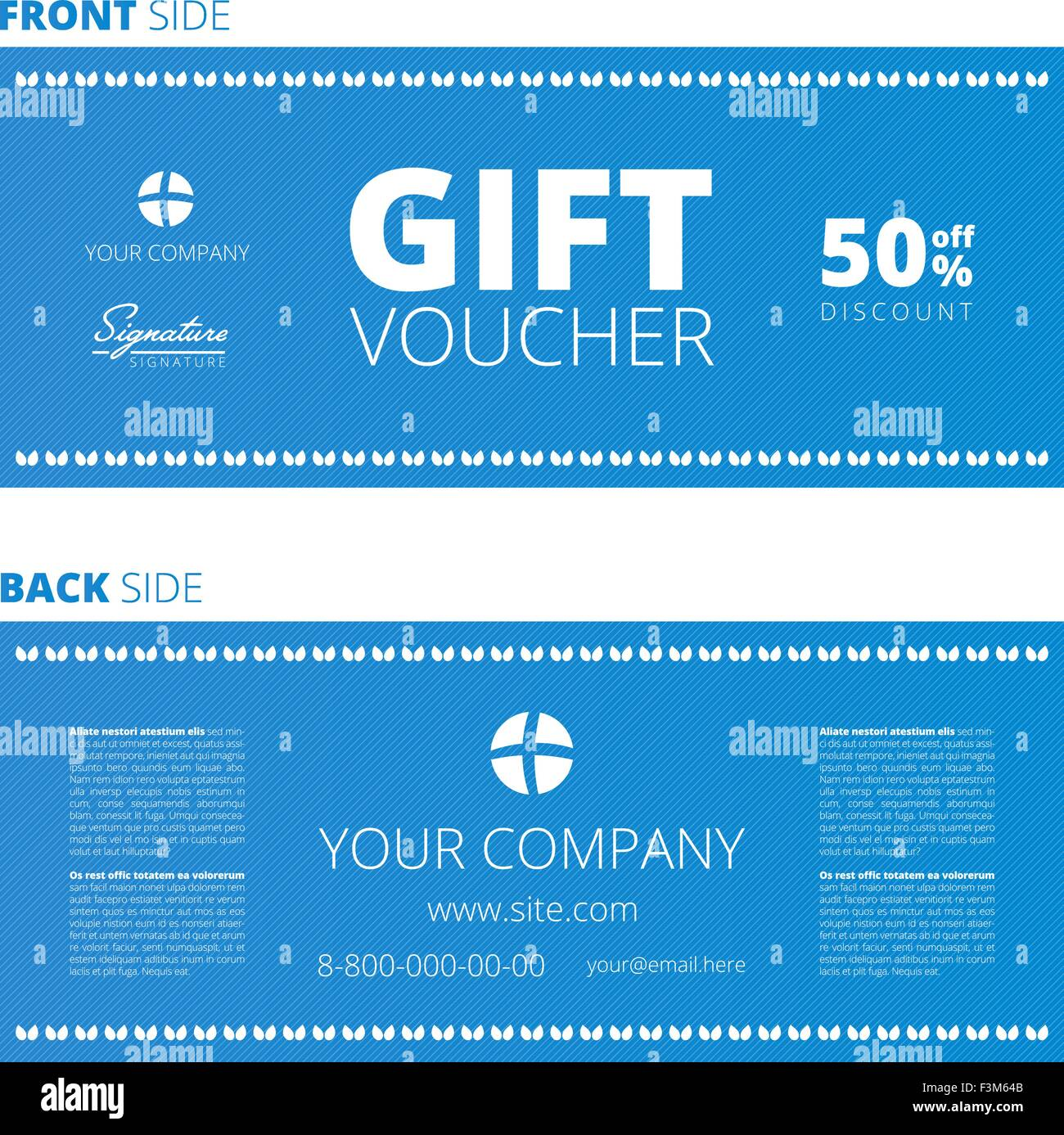 Design of voucher and gift certificate coupon template design stock design of voucher and gift certificate coupon template design discount yadclub Gallery