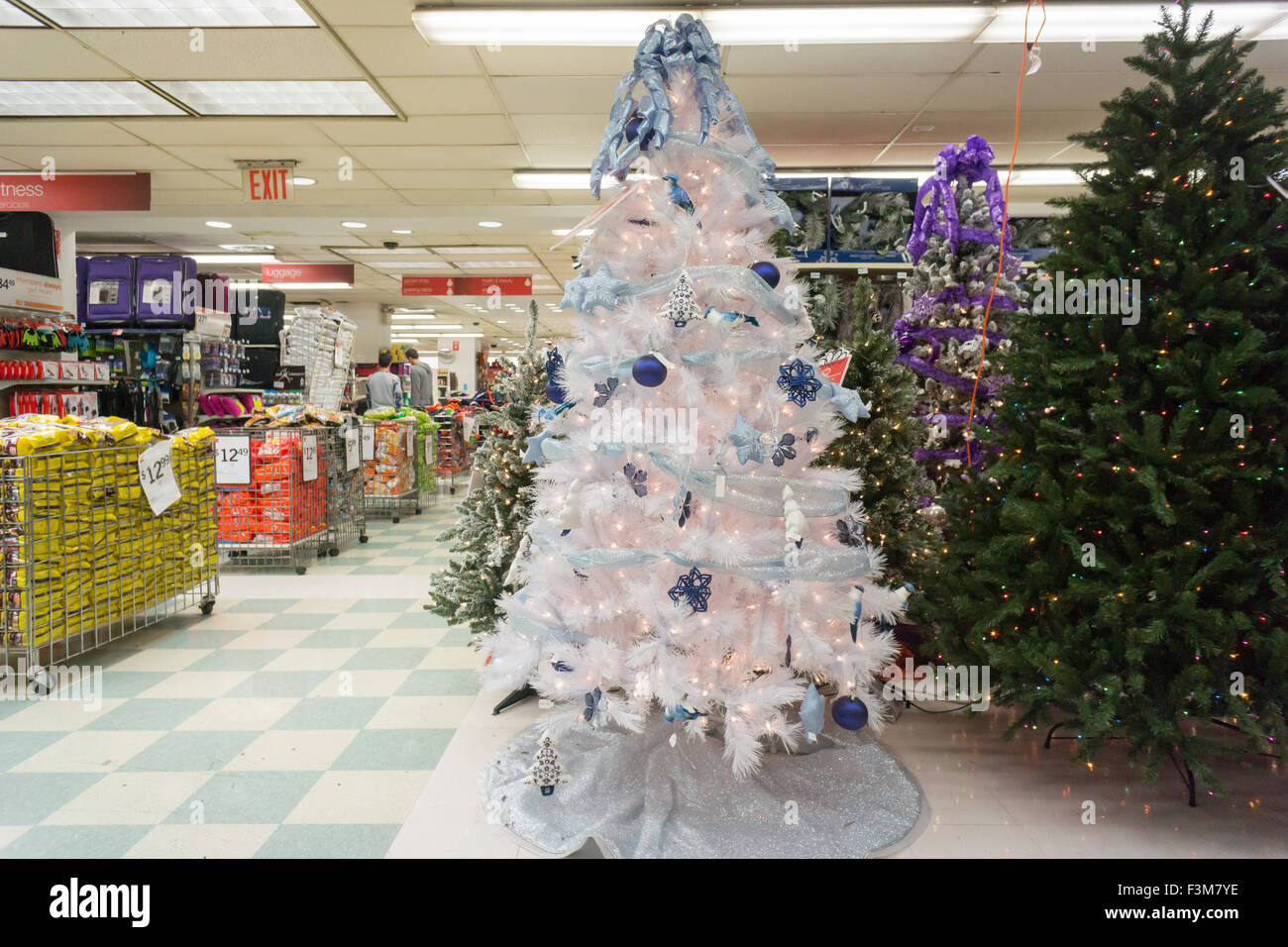 Is Kmart Open On Christmas Day.Seasonal Christmas Display In A Kmart Store In New York On