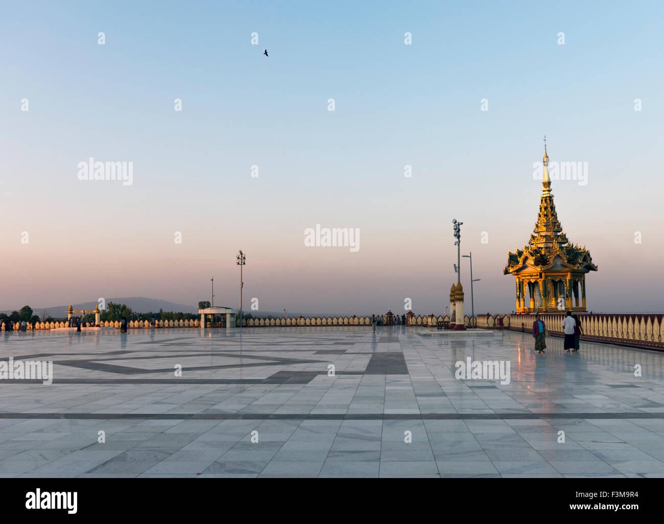 Uppatasanti pagoda, Naypyidaw Burma Stock Photo